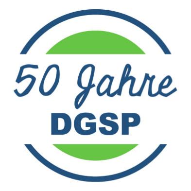 Die DGSP feiert ihren 50. Geburtstag  – Wir sind dabei und gratulieren